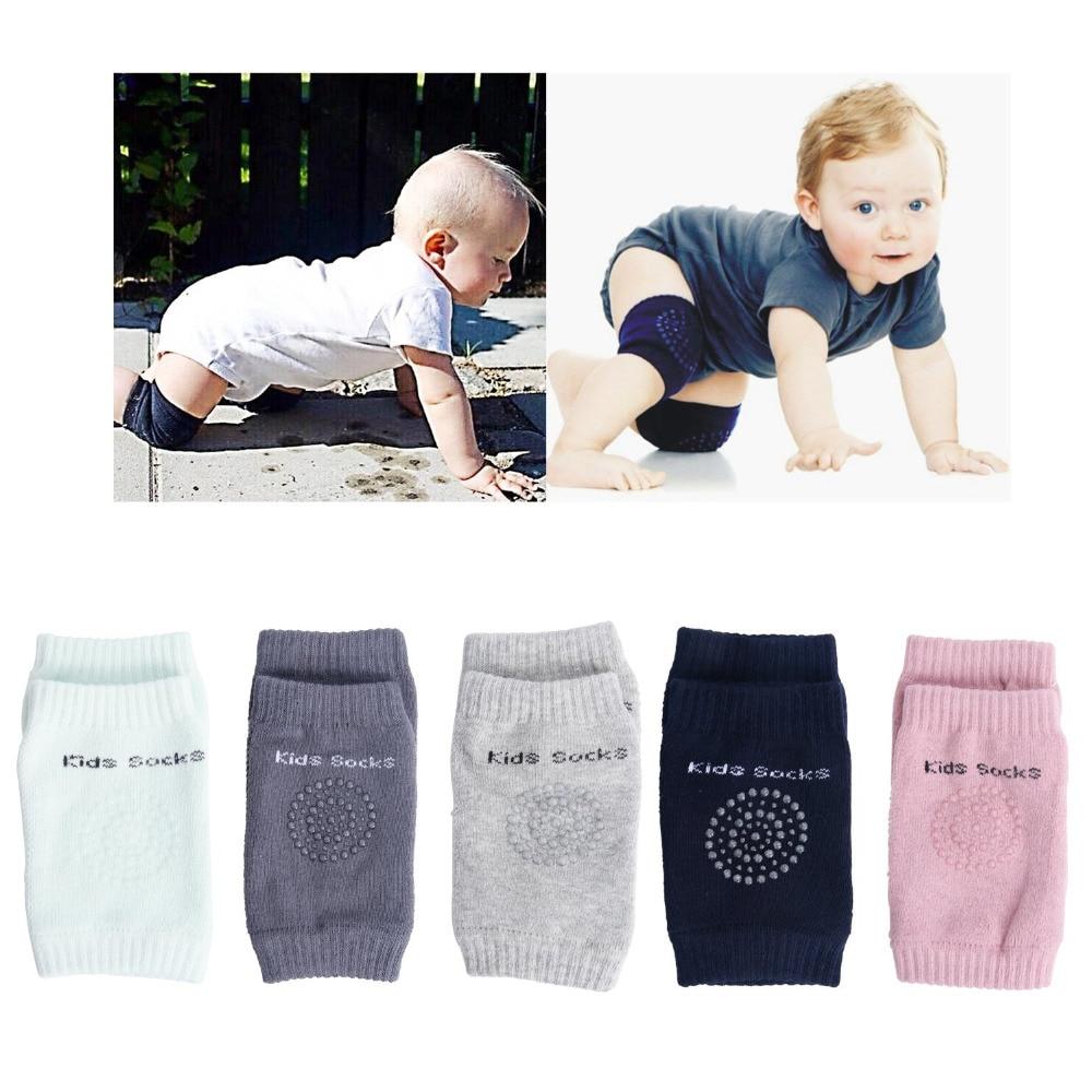 1 Para Baby Knie Pads Kriechende Gamaschen Sicherheit Kinder Krabbeln Elbow Kissen Beinlinge Kleinkinder Knie Leggings Für Kinder Exzellente QualitäT