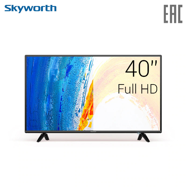 Телевизор LED 40'' Skyworth 40E2A FullHD