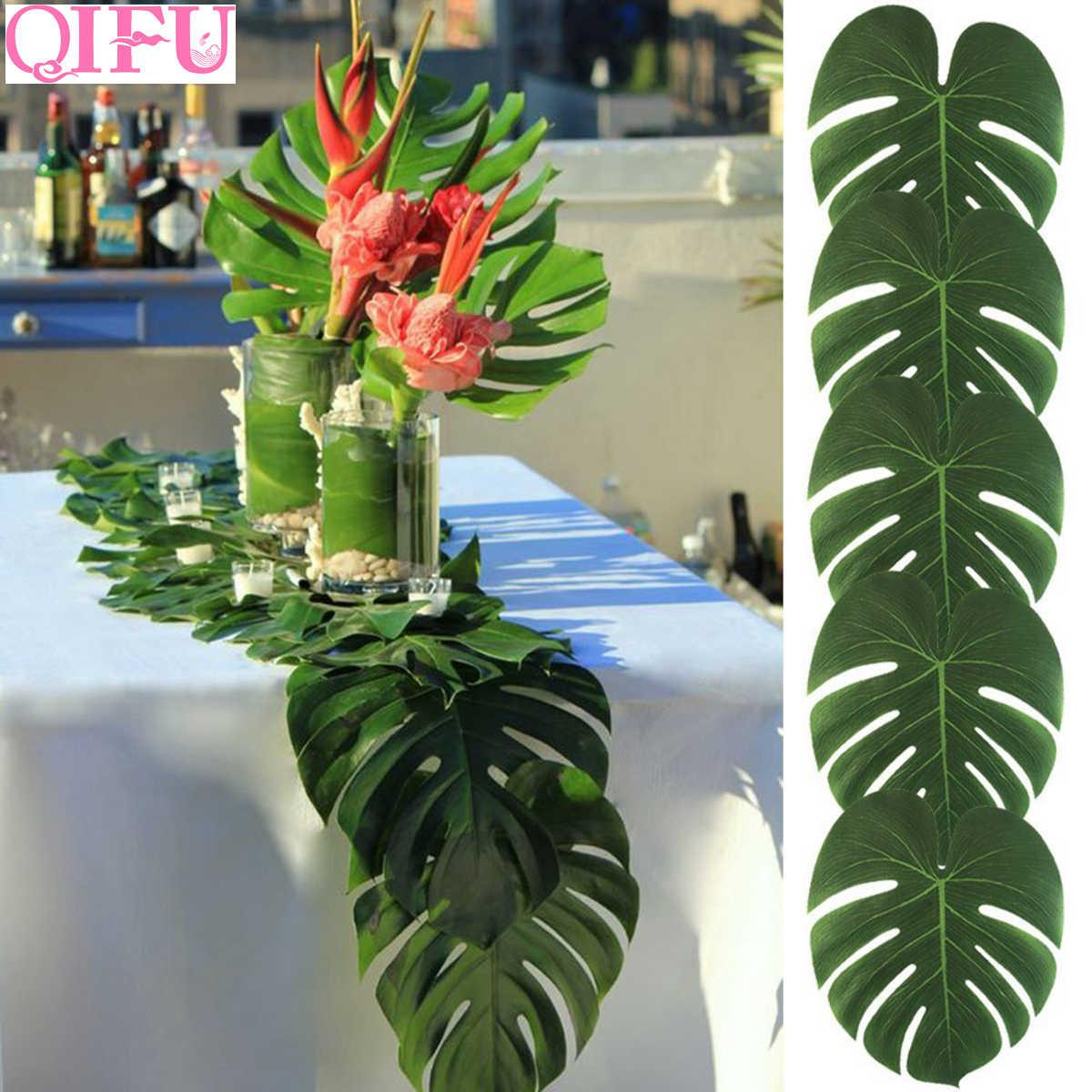 Tropical Palm Leaf Decor Jungle Party