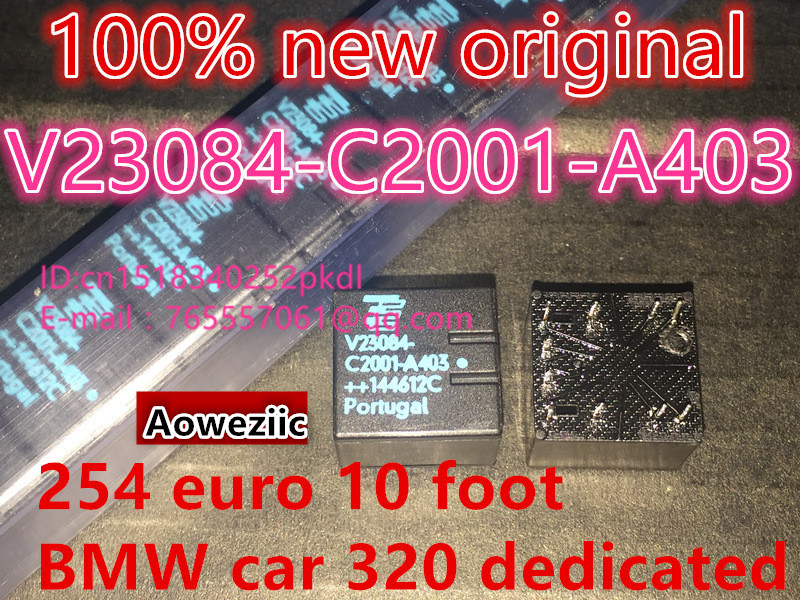 100% New original V23084-C2001-A403 DIP 10 254 European automotive 320 special automotive relay IC chip 10pcs 20pcs 50pcs 100pcs 100% new original tb9003fg tb9003f6 sop36 automotive ic chip