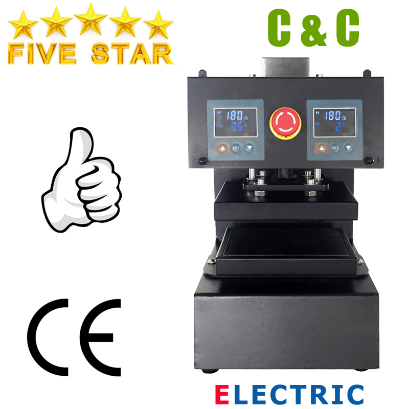 15x20cm 6x8 Rosin Press High Pressure Electric Auto Dual Heat No Need Air Compressor Rosin Heat