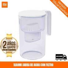 [PLAZA Garantía]Xiaomi Mijia Filtración eficiente Filtro de agua a prueba de polvo Hervidor - Transparente - Transparente