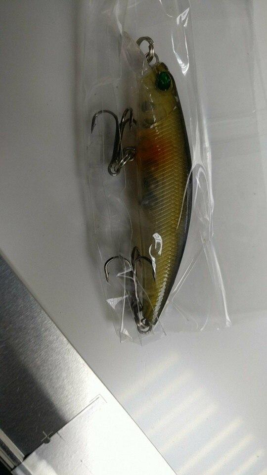 1Pcs Minnow Fishing Lure 68mm-2.67in Laser Crankbait Wobblers Artificial Plastic Hard Bait Fishing Tackle 4g-0.14oz