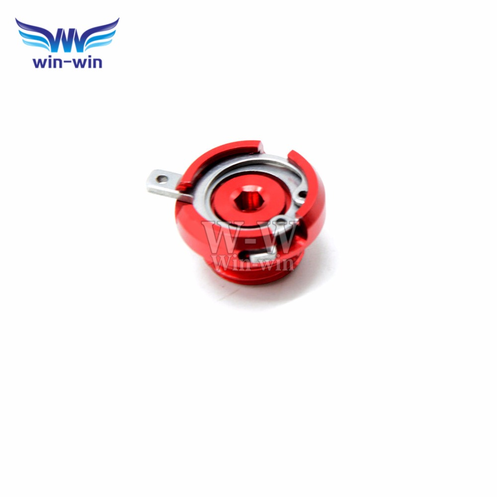 red color CNC Motorcycle parts Engine Oil Filter Cover Cap for ducati monster honda Shadow 750 Aero