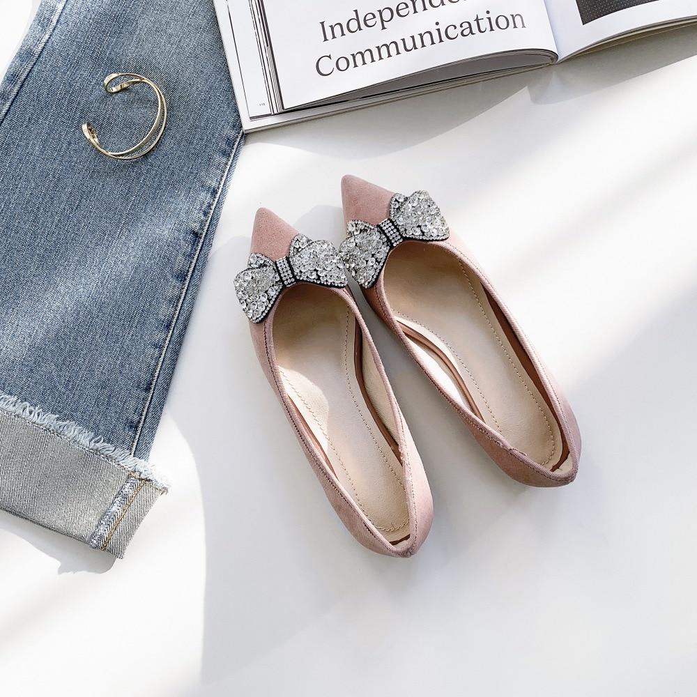 Mujeres 2019 De Mocasines Zapatos Cuero Mujer Diamantes rosado Cm Cómodos Planos 1 Negro Imitación Casuales Moda Las qIgIUw