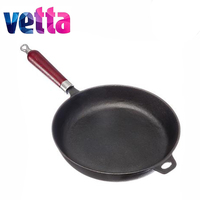 PAN VETTA 26*5cm cast iron kitchen skillet frying pan cookware pot egg fried induction stove oven sale 808 005,808 006,808 007