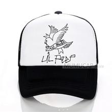 7745e9b3cb6 Rock Lil Peep Baseball caps Male casual outdoor Summer mesh Men hat Men and women  cap