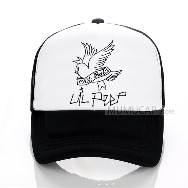 db4995e3f9083d Rock Lil Peep Baseball caps Male casual outdoor Summer mesh Men hat Men and  women cap snapback trucker cap
