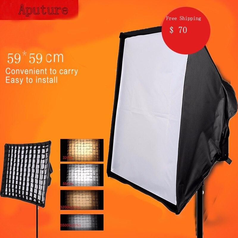 Fotopal Softbox Diffuser Kit Photography Studio Continuous Softbox for K4000 K4000S Aputure Lightstorm LS 1S 1C LED Light Panels доска для объявлений dz 5 1 softbox j2a 538 jndx 2 s a