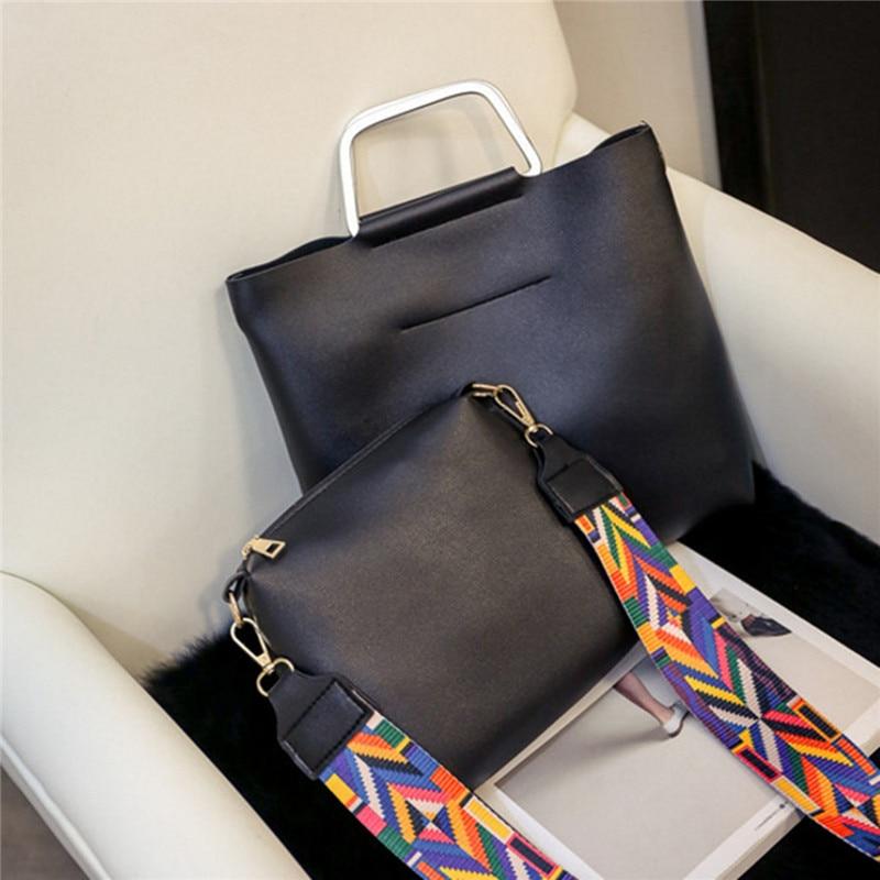 senhoras bolsas de couro sólidos Exterior : Nenhum