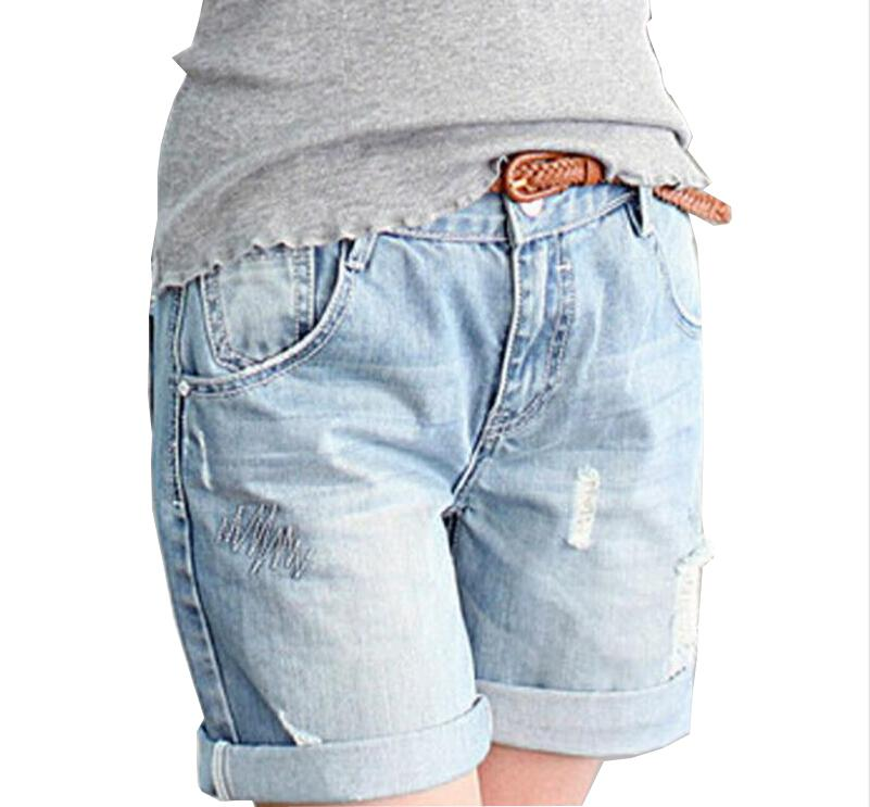 Spring Summer women   short   pants Destroyed Jeans   Shorts   D975