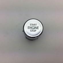 Para interruptor de arranque y parada de motor VW tizan botón de arranque de una tecla un botón de inicio 5NG 959 839