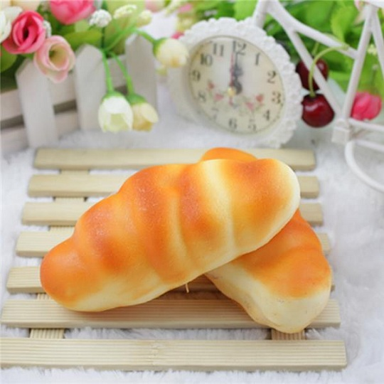 New French Baguettes Kawaii Squishyed Toy Rising Jumbo Cute Squeeze Stress Kids Gift Pillow Loaf Cake Bread Squishying Toys