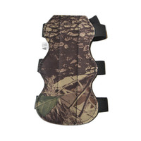 1pc Camo Archery Hunting Arm Guard with 3 Straps Flexible Adjustable Glove for hunting and shooting sports
