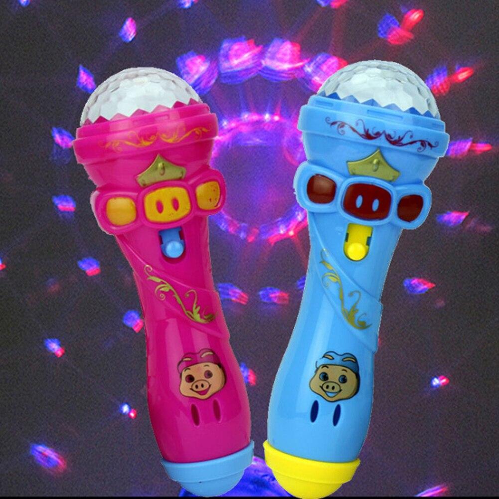 1 шт. вспышки света микрофон по всему небу звезды стержень световой игрушка разные цвета