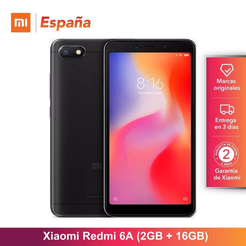 [Version globale pour l'espagne] Xiaomi Redmi 6A (memia interna de 16 GB, RAM de 2 GB, Camara de 13 MP, Bateria de 3000 mAh) Movil