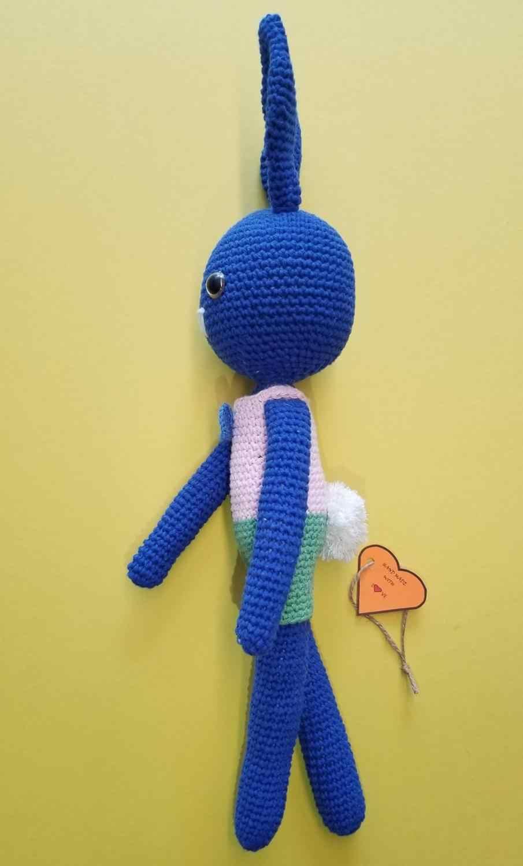 Crochet Amigurumi Rabbit [FREE Pattern] - The Crochet Space | 1500x905