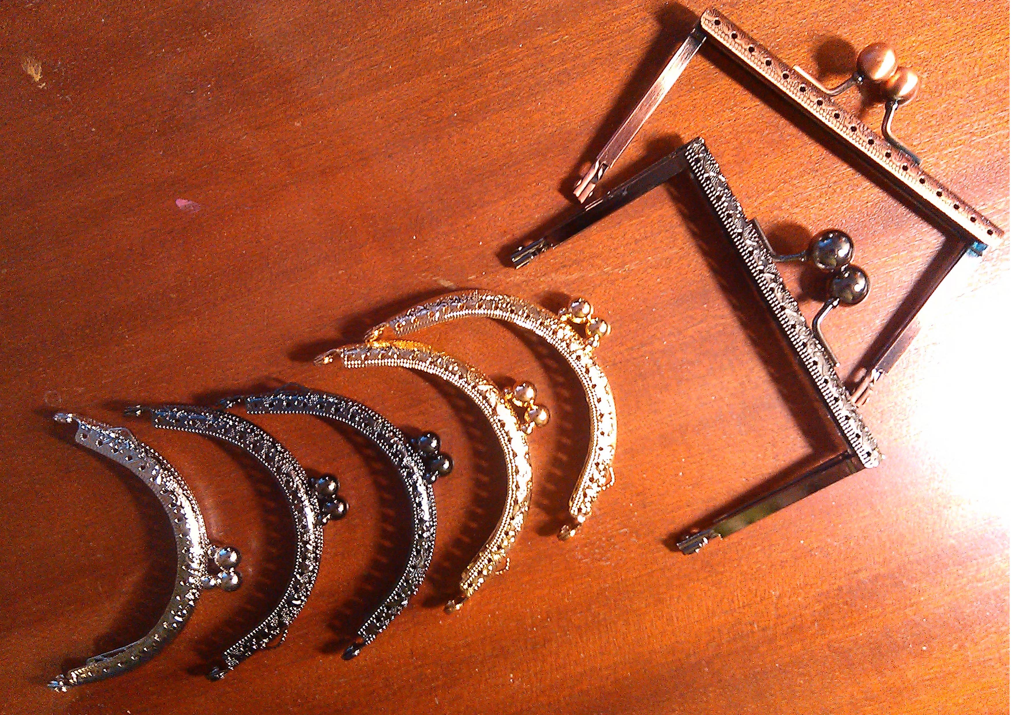 10.5cm Vierkant Metalen Portemonnee Frame Handvat voor Clutch Bag Handtas Accessoires Making Kiss Clasp Lock Antiek Brons Tassen Hardware photo review