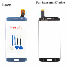 For Samsung Galaxy S7 Edge S7edge G935 G935F G9350 Mobile Phone Touch screen Panel Glass Display not LCD assembly