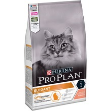 Сухой корм Pro Plan для кошек с чувствительной кожей с лососем, 9 кг.