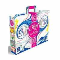 Juguetes de dibujo Master IQ2 9613889 tablero de caballete establece creatividad pluma 3D niños páginas de colorear