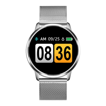 RUNDOING Q8 Smart Watch OLED Color Screen Smartwatch women Fashion Fitness Tracker Heart Rate monitor 10