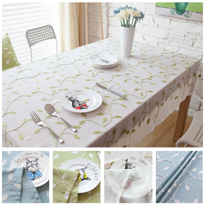 alta calidad bordada pao de tabla mantel cuadrado rectangular crochet mesa manteles textil hogar cubierta de