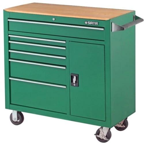 Sata tool trolley with 8 shelves, S95109 b shelves