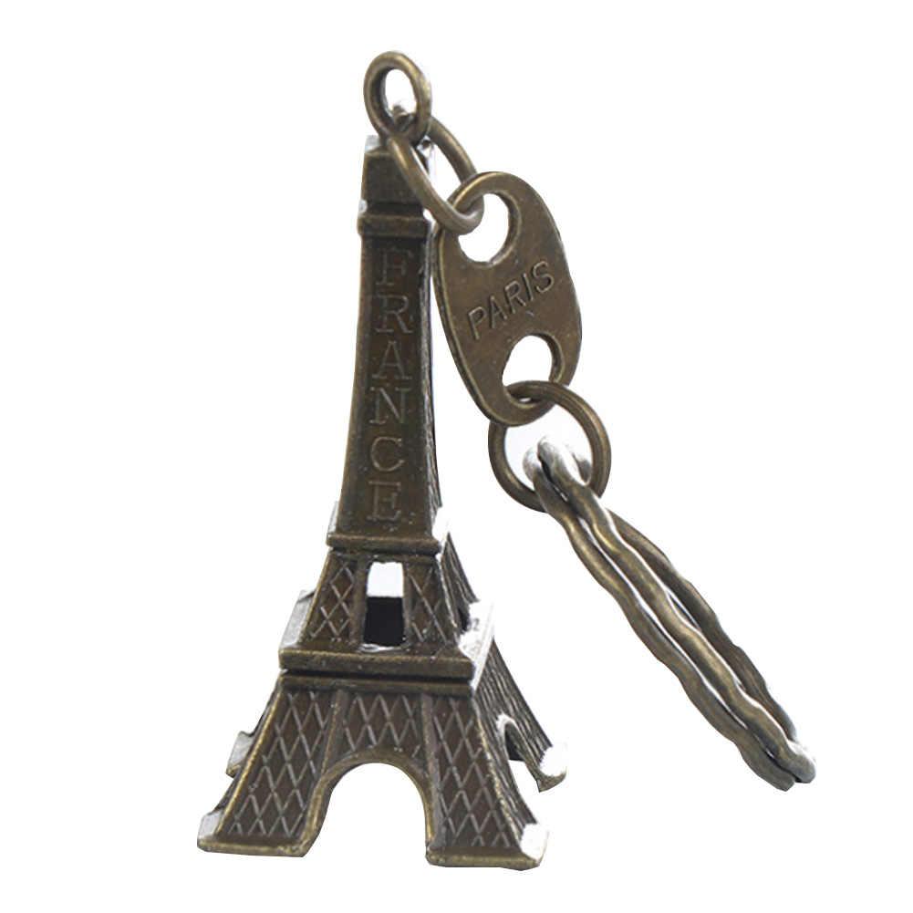 Retro klasik eyfel kulesi anahtarlık hediyelik eşya anahtarlıklar Vintage anahtarlık tutucu dekorasyon hediyeler soğuk/bronz/gümüş