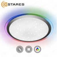 Estares Controlled LED Ceiling Light ARION 60 W RGB R-535-SHINY-220V-IP44