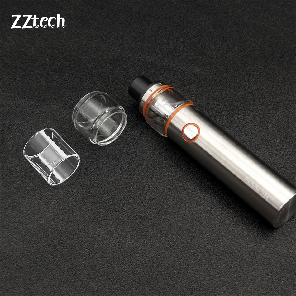 E-cigarette Smok Vape Pen 22 Pyrex Pure Glasss Tube Replacement For Electronic Smok Vape Pen 22 Including Straight Or Fat Style