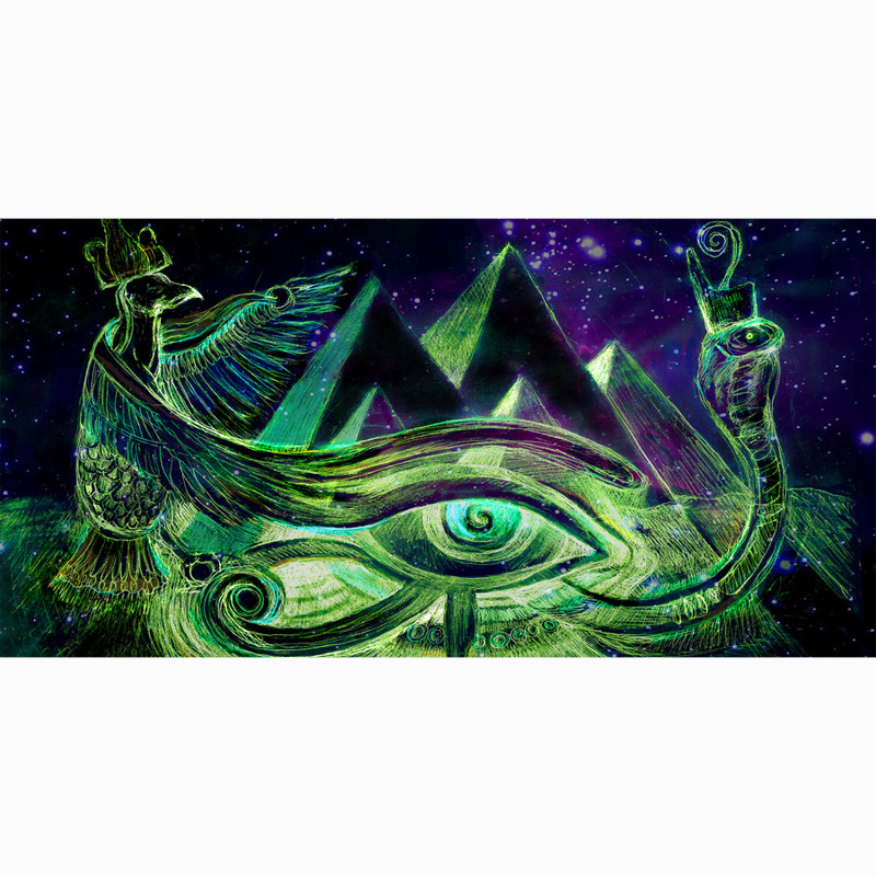 Power Source Bbq Liberal The Eye Of Horus 70x140cm Beach Towel Diy Printed Bamboo Fiber Seaside Towel Beach Vacation Camping Mat Gym Swimming Towel To Ensure A Like-New Appearance Indefinably