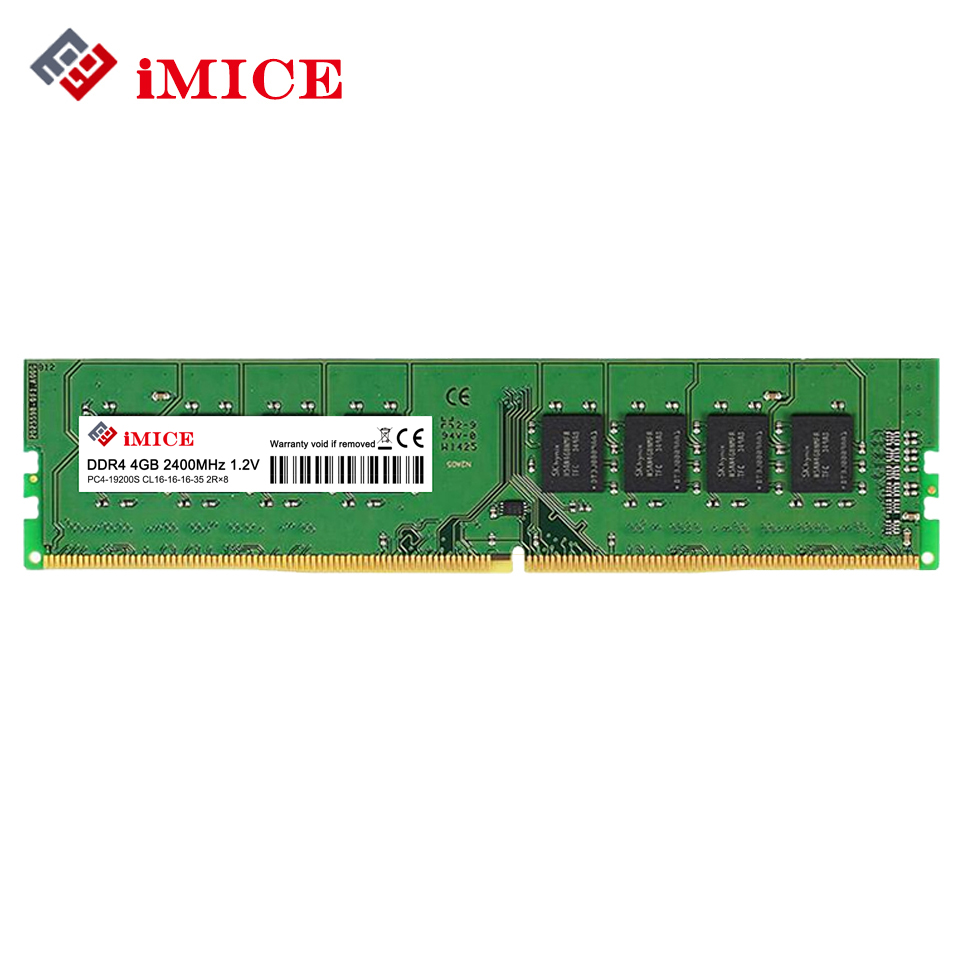 iMICE RAM DDR4 4GB 2400MHz CL15 PC-19200S 1.2V 1Rx8 288-Pin 8GB 2133MHz SODIMM RAM For Intel Desktop Memory Stick Compatible PC full compatible for intel and for a m d motherboard pc12800 1600mhz desktop memory ram ddr3 8gb