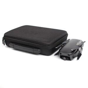 Image 5 - SUNNYLIFE Mavic HAVA Su Geçirmez Taşıma Çantası Kutusu PU Deri Oxford saklama çantası Çanta DJI Mavic Hava Için Taşınabilir Bavul