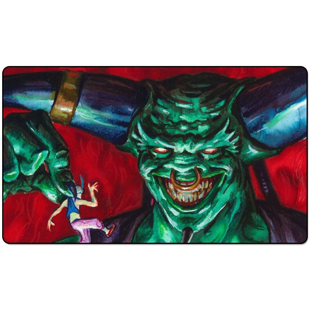 Juzam Djinn Art 60x35 Magic Playmat, Magic Juzam Djinn Playmat, Juzam Djinn Board Game Playmat