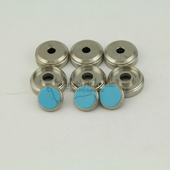 Trumpet Valve Finger Buttons Repair Parts 1set=9pcs фото