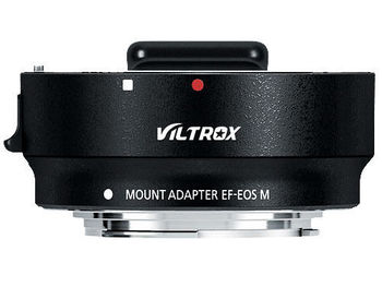 New Viltrox For EF-EOS M Metal Electronic Auto Focus Lens Adapter For Canon EF EF-S Lens to EF-M For EOS M camera фото