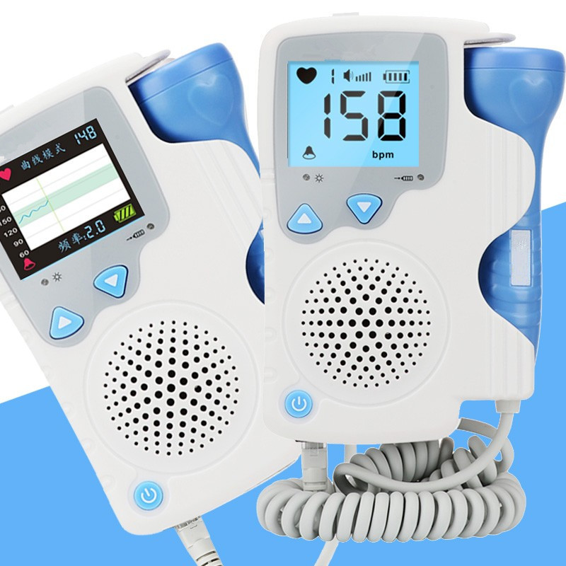 Fetal Doppler Baby Heart Rate Monitor Pregnant Home Use