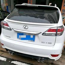 Для Lexus RX200 RX270 RX350 RX серии 2013 автомобиля ABS пластик крыло задний спойлер багажника