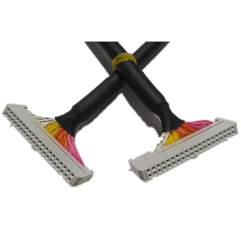 IDE 10P 14P 16P 20P 26P 30P 34P 40P 50P 64P Shield Cable FC-2*15 2.54mm Flat Cable FC-10P FC-14P FC-16P FC-20P FC-26P FC-50P