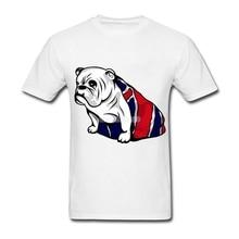 British Bulldog Short Sleeve Cotton Custom Couple T-shirts Geek 3XL T-shirts