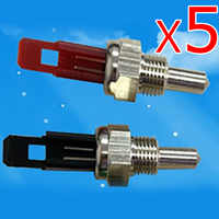 5Pcs Gas heating boiler gas water heater spare parts NTC 10K temperature sensor boiler for water heating