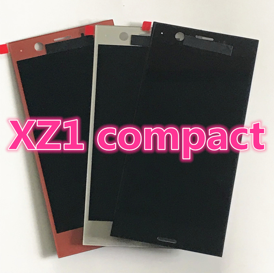 1280x720 IPS LCD for SONY Xperia XZ1 Compact Display 4.6 XZ1 MINI LCD with Touch Screen Digitizer Assembly Replacement parts1280x720 IPS LCD for SONY Xperia XZ1 Compact Display 4.6 XZ1 MINI LCD with Touch Screen Digitizer Assembly Replacement parts