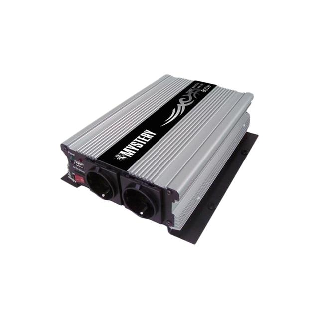 Преобразователь напряжения MYSTERY MAC-800 ( Входное напряжение: 10 - 15В. Выходное напряжение: 230 В(+/- 5%). Частота выходного напряжения: 50Гц(+/- 5%), Максимальная выходная мощность: 800Вт)