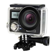 4K Ultra HD 1080P Sports Camera Waterproof Camera Portable Precise Double Screen Camcorder W/ RC