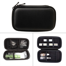 Cigarro eletrônico DIY Kit Maleta de Ferramentas Pinças Alicate Aquecedores Fio Jig Bobina Para vapor kit maleta de ferramentas