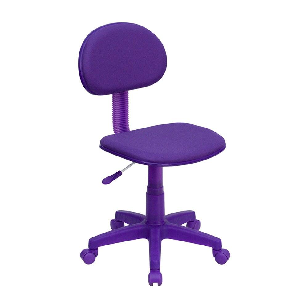 Flash Furniture Purple Fabric Ergonomic Task Chair [863-BT-698-PURPLE-GG] deep purple deep purple stormbringer 35th anniversary edition cd dvd