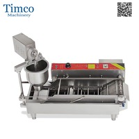 Donut Making Machine Commercial Automatic 220V 110V Stainless Steel Donut Machine