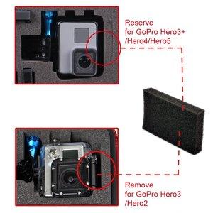 Image 4 - Smatree GA700 3 Impermeabile Scatola Dura Trasporta la Cassa per Gopro hero 8/7/6/5/4/ 3 +, per Xiaomi Yi 4 K/SJCAM cassa della Macchina Fotografica di Azione