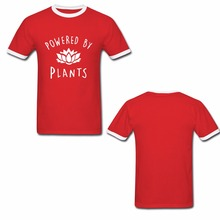 "Killer ringneck ""Powered by Plants"" unisex shirt"